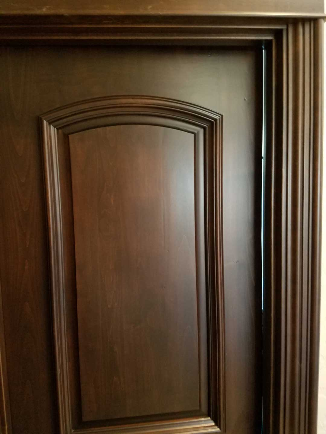 dark-wood-door